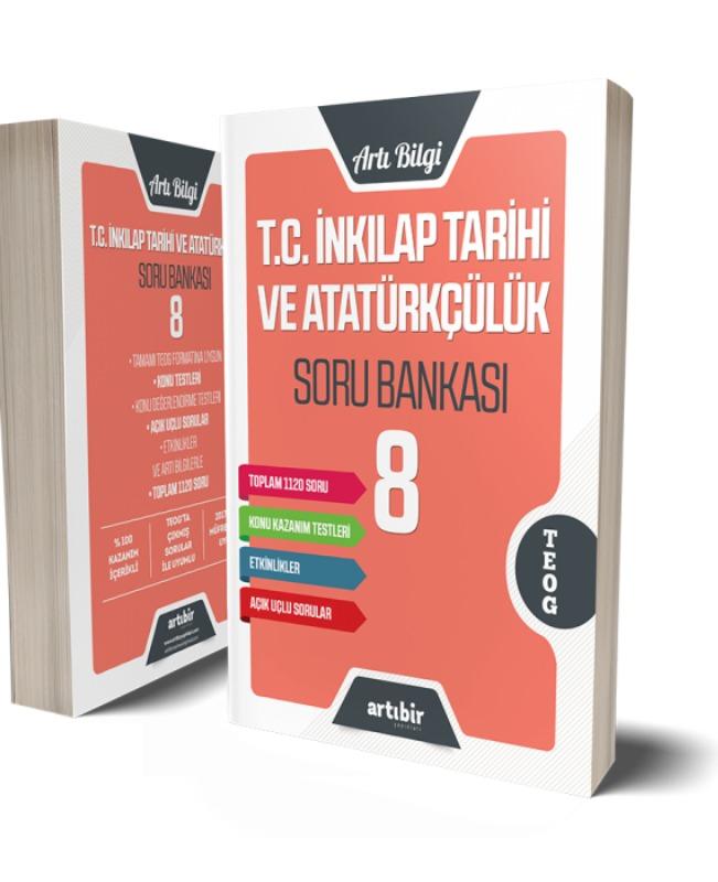8.Sınıf T.C İnkilap Tarihi ve Atatürkçülük Soru Bankası Artıbir Yayınları