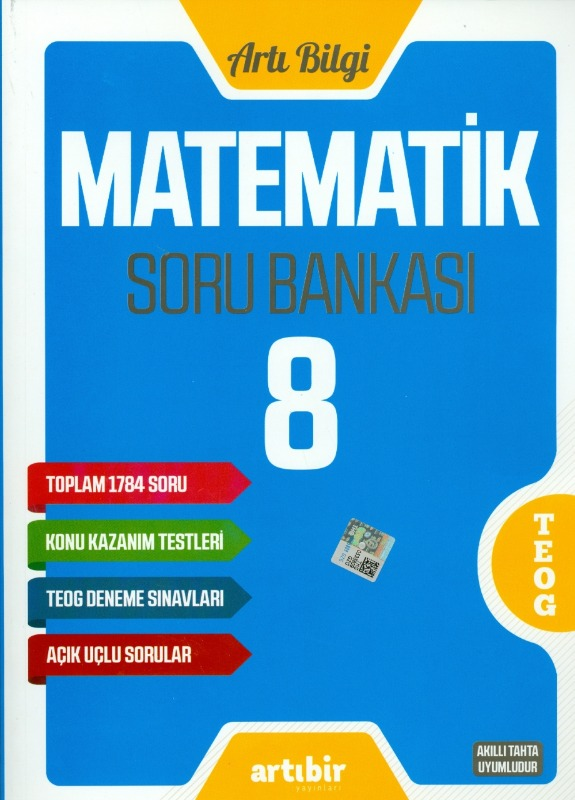 8.Sınıf Matematik Soru Bankası Artıbir Yayınları