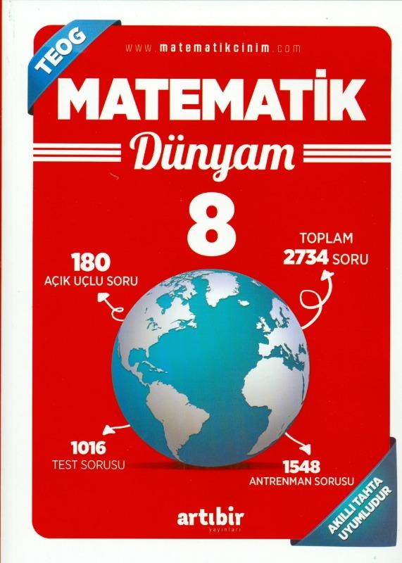 8.Sınıf  Matematik Dünyam Artıbir Yayınları