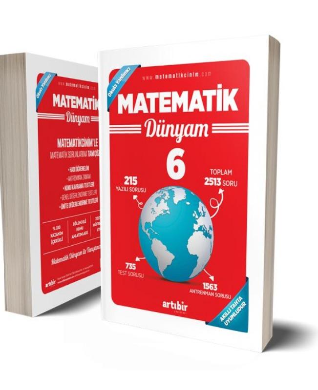 6.Sınıf Matematik Benim Dünyam Soru Bankası Artıbir Yayınlar