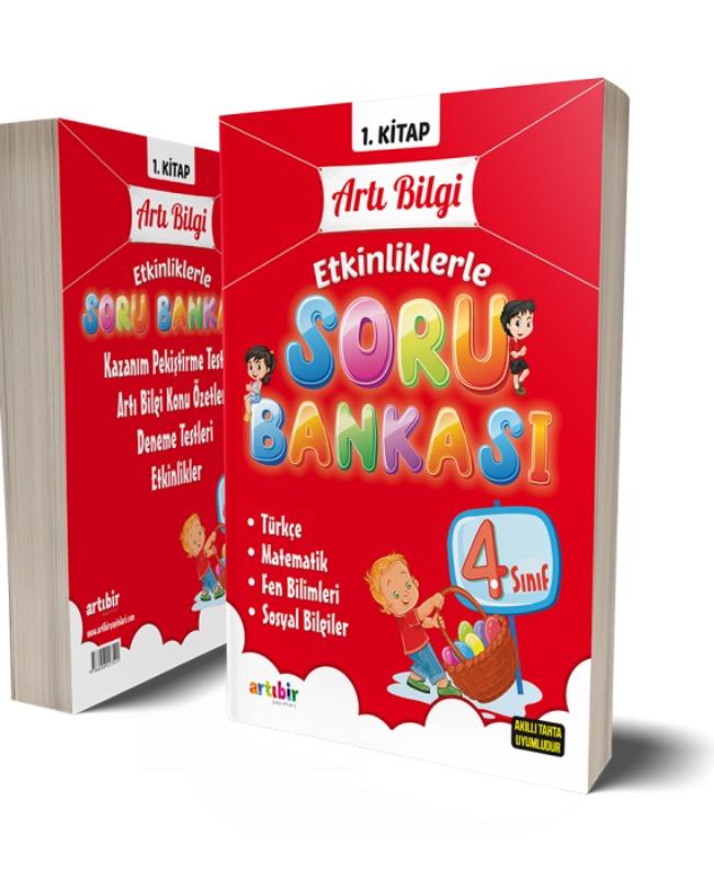 4. Sınıf Artı Bilgi Etkinliklerle Soru Bankası Artıbir Yayınları