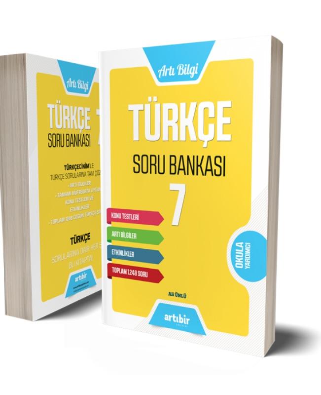 7.Sınıf Türkçe Soru Bankası Artıbir Yayınları