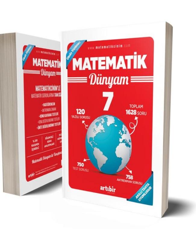 7.Sınıf Matematik Benim Dünyam Soru Bankası Artıbir Yayınları