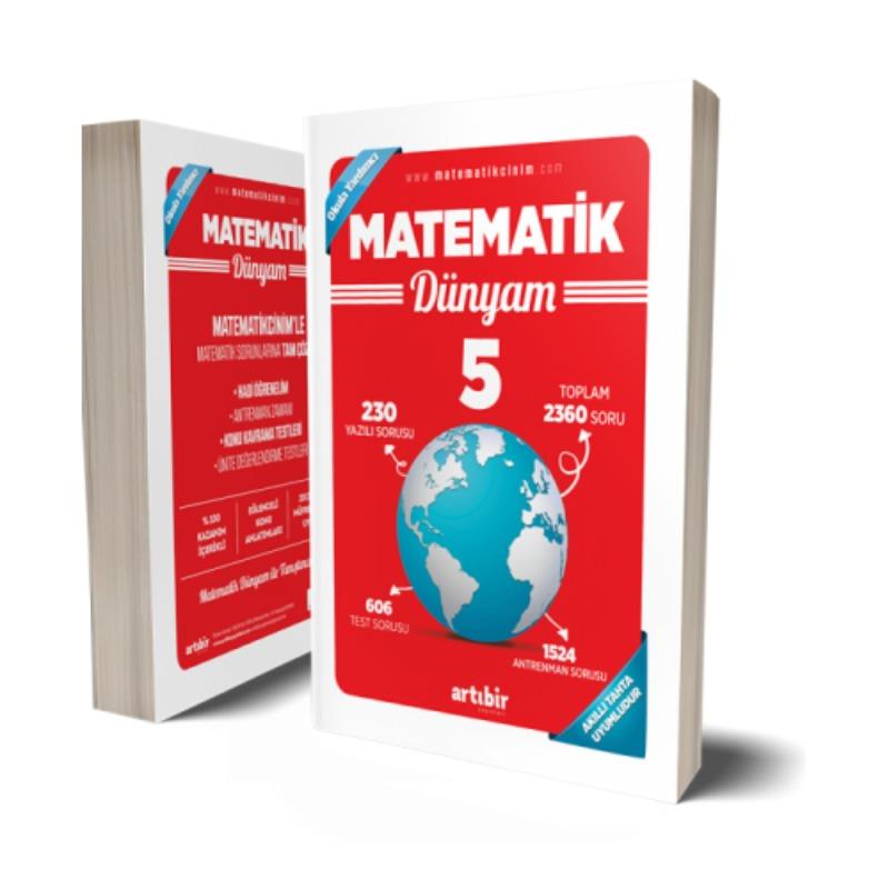 5.Sınıf Matematik Dünyam Artıbir Yayınları