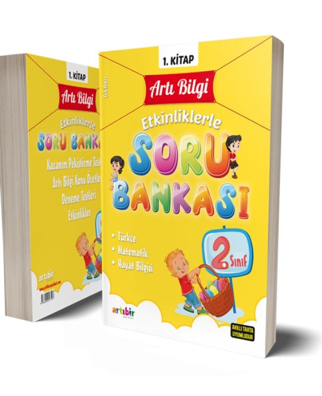 2.Sınıf Artı Bilgi Etkinliklerle Soru Bankası Artı Bir Yayınları