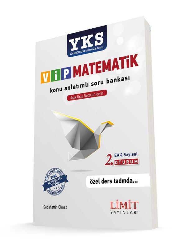 YKS 2 Oturum Vip Matematik 2 Konu Anlatımlı Soru Bankası Limit Yayınları