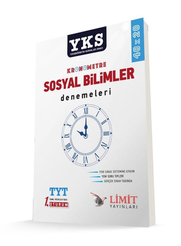 YKS Kronometre Sosyal Bilimler Denemeleri Limit Yayınları