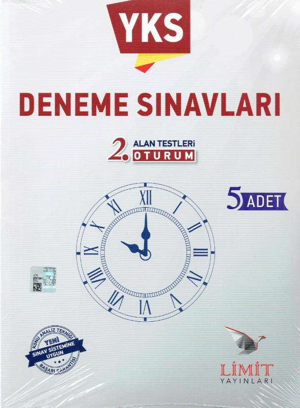 YKS 2.Oturum Deneme Sınavları Limt Yayınları
