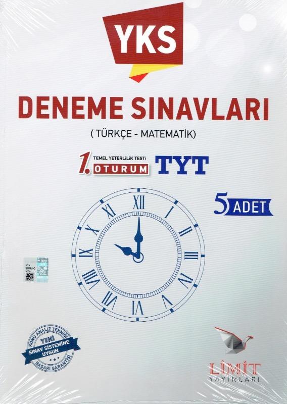 YKS 1.Oturum TYT Deneme Sınavları Limit Yayınları
