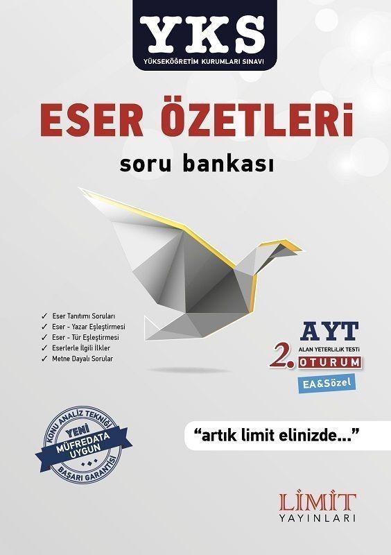 YKS AYT 2 .Oturum Eser Özetleri Soru Bankası Limit Yayınları