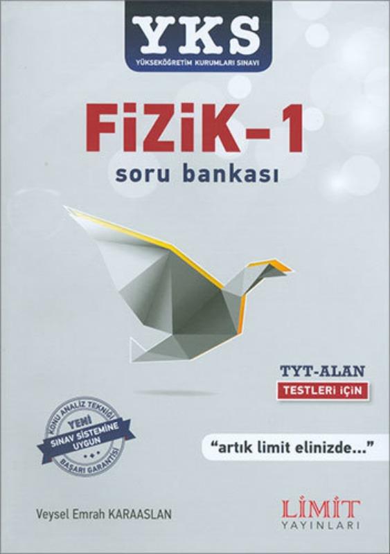 YKS Fizik 1 Soru Bankası Limit Yayınları