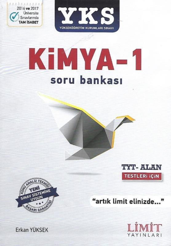 YKS 1.Oturum Kimya 1 Soru Bankası Limit Yayınları