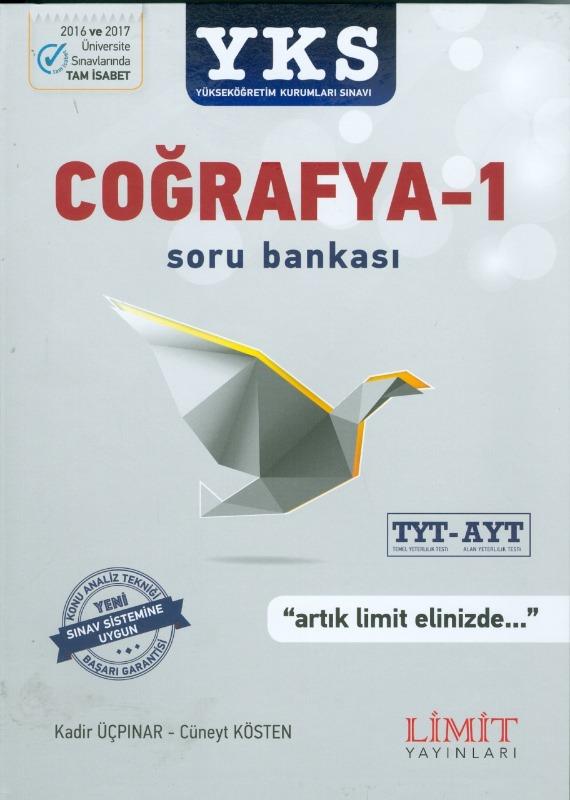 YKS TYT AYT Coğrafya 1 Soru Bankası Limit Yayınları