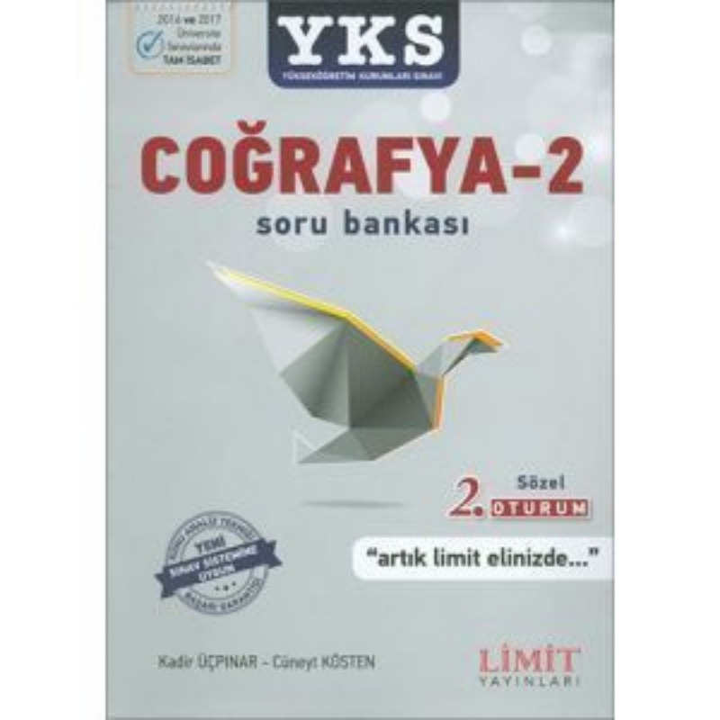 YKS 2.Oturum Coğrafya 2 Sözel Soru Bankası Limit Yayınları