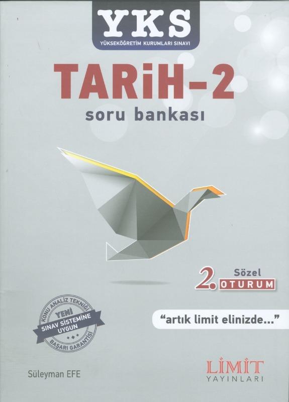 YKS 2.Oturum Tarih 2 Soru Bankası Limit Yayınları