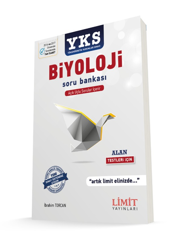 YKS 2.Oturum Alan Biyoloji Soru Bankası Limit Yayınları