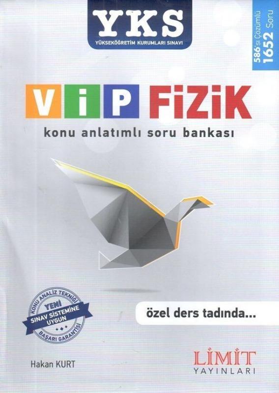 YKS VİP Fizik Konu Anlatımlı Soru Bankası Limit Yayınları