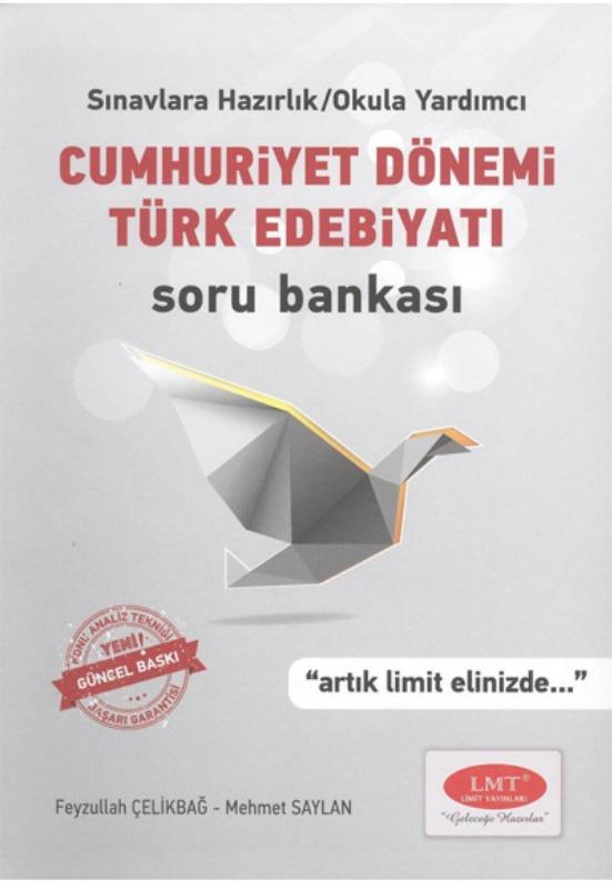 Cumhuriyet Dönemi Türk Edebiyatı Soru Bankası Limit Yayınları