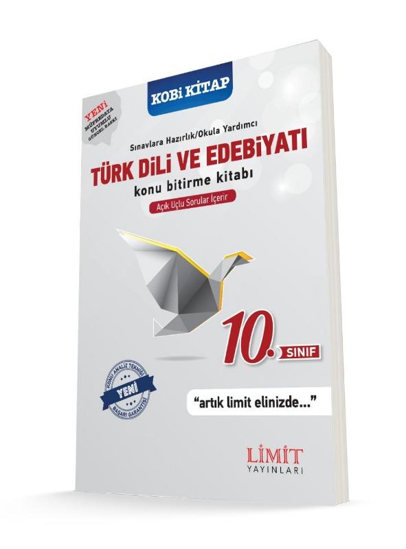 10.Sınıf Türk Dili ve Edebiyatı Konu Bitirme Kitabı Limit Yayınları