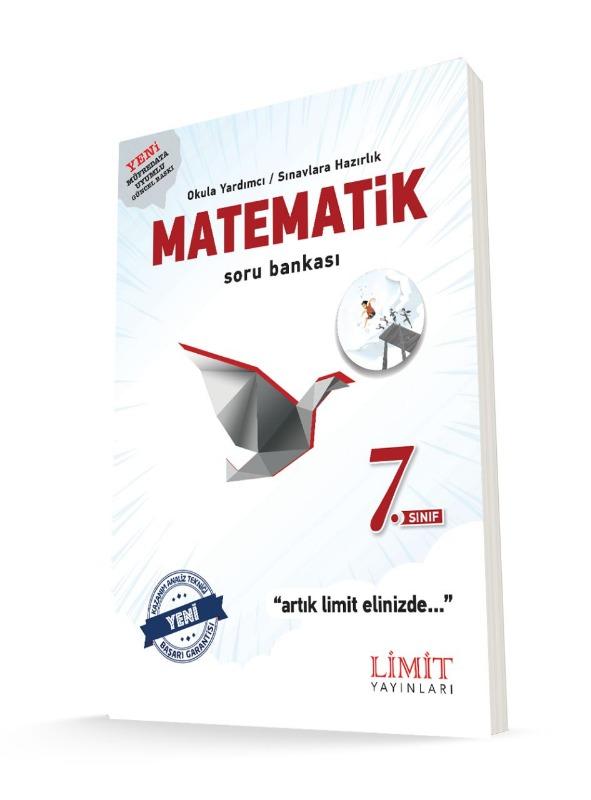 7.Sınıf Matematik Soru Bankası Limit Yayınları