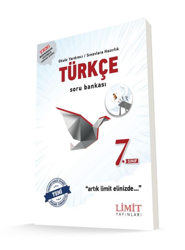 7.Sınıf Türkçe Soru Bankası Limit Yayınları