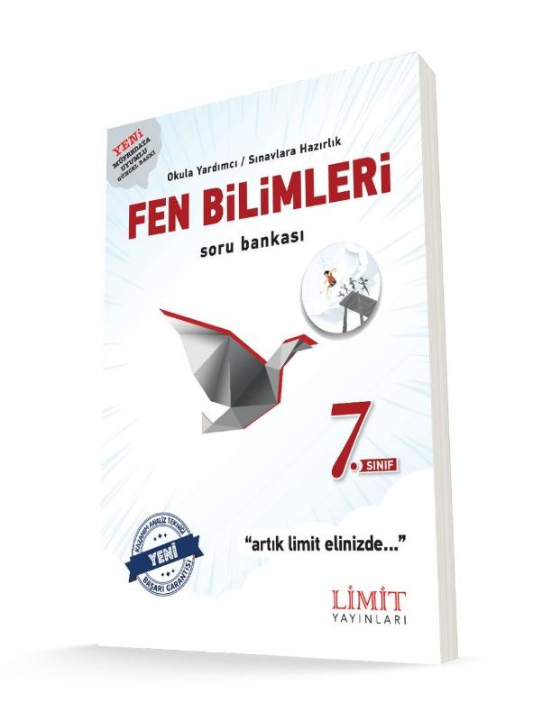 7.Sınıf Fen Bilimleri Soru Bankası Limit Yayınları