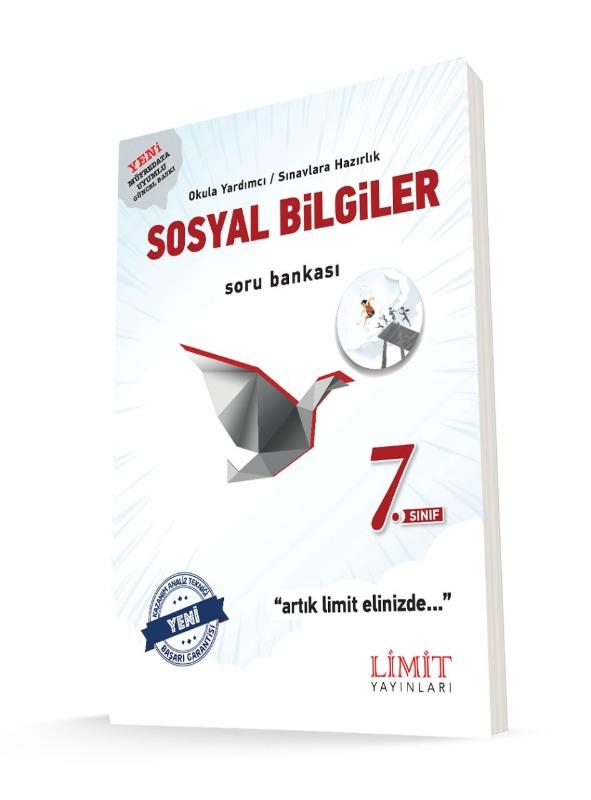 7.Sınıf Sosyal Bilgiler Soru Bankası Limit Yayınları