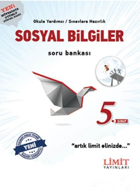 5.Sınıf Sosyal Bilgiler Soru Bankası Limit Yayınları