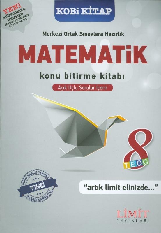 8.Sınıf Matematik Konu Bitirme Kitabı Limit Yayınları