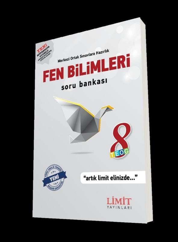 8.Sınıf Fen Bilimleri Soru Bankası Limit Yayınları