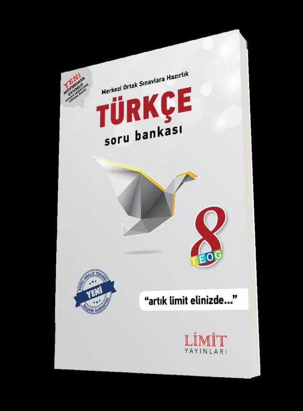 8.Sınıf Türkçe Soru Bankası Limit Yayınları