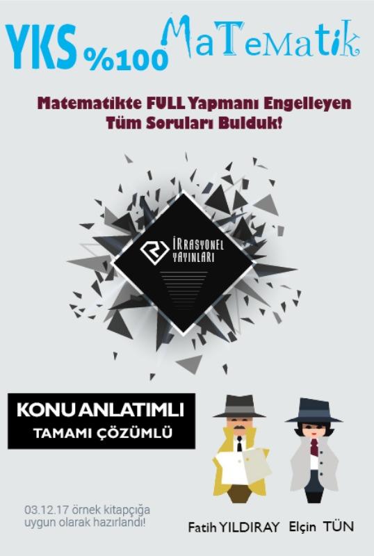 İrrasyonel YKS  % 100 Matematik Konu Anlatımlı İrrasyonel Yayınları