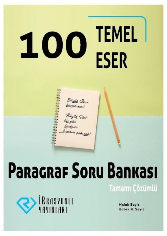 İrrasyonel YKS 100 Temel Eser Paragraf Soru Bankası İrrasyonel Yayınları