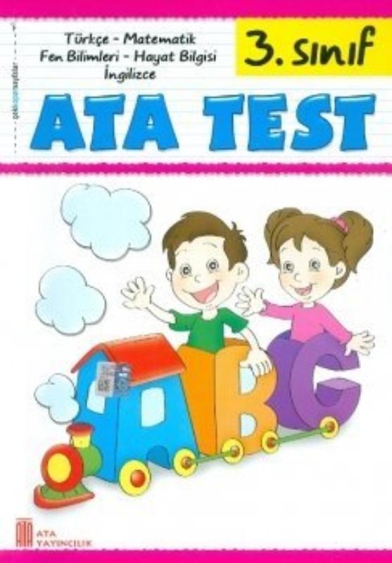3. Sınıf Tüm Dersler Etkinlikten Çek Kopar Test Ata Yayınları