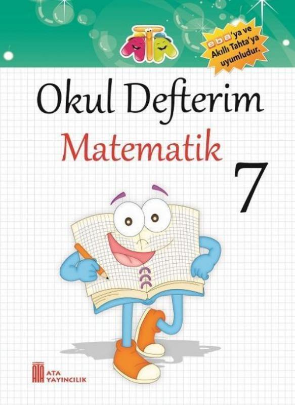 7.Sınıf Okul Defterim Matematik Ata Yayınları