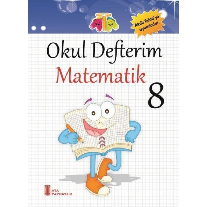 8.Sınıf Okul Defterim Matematik Ata Yayınları