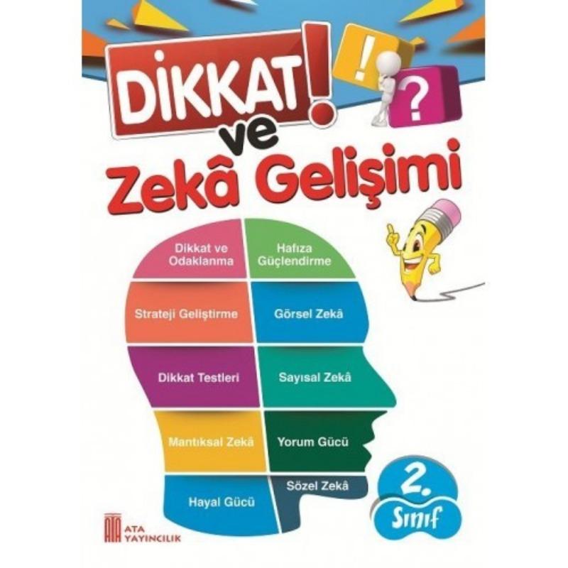 2.Sınıf Dikkat ve Zeka Gelişimi Ata Yayınları