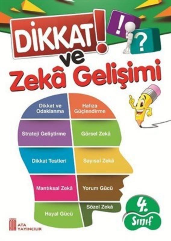 4.Sınıf Dikkat ve Zeka Gelişimi Ata Yayınları
