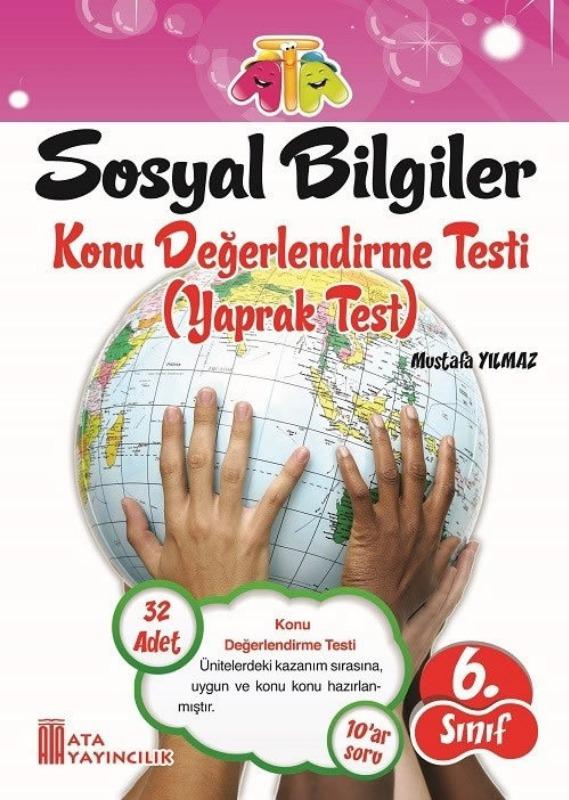 6.Sınıf Sosyal Bilgiler Yaprak Test Ata Yayınları