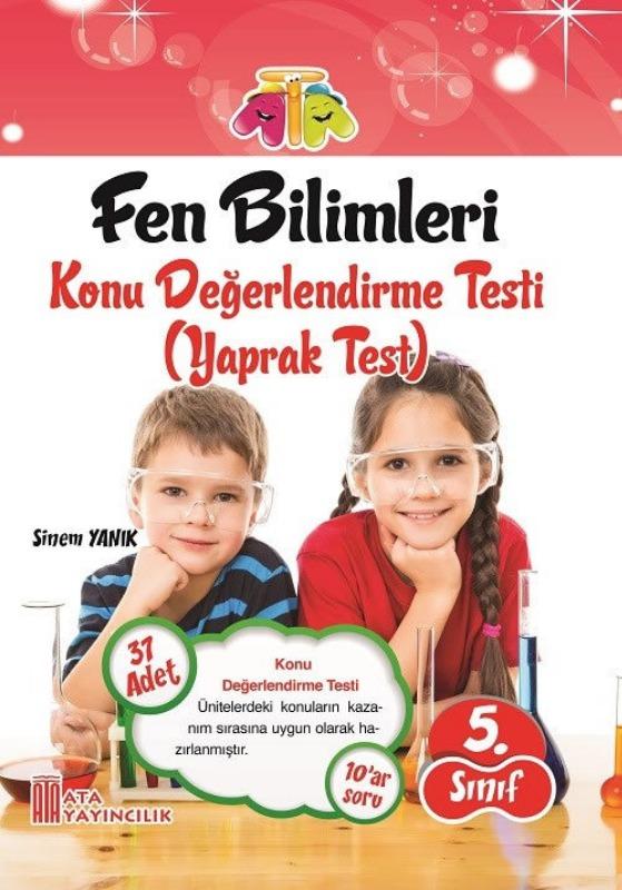 5. Sınıf Fen Bilimleri Yaprak Test Ata Yayınları