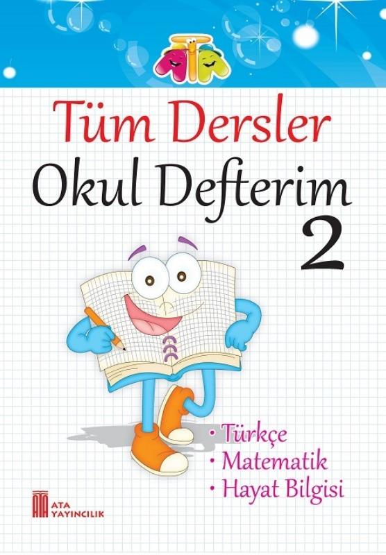 2.Sınıf Tüm Dersler Okul Defterim Ata Yayınları