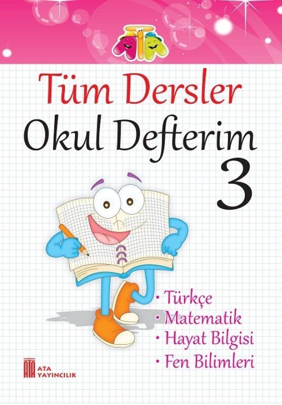 3.Sınıf Tüm Dersler Okul Defterim Ata Yayınları