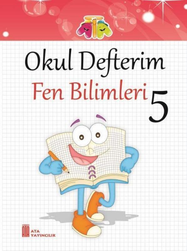 5.Sınıf Okul Defterim Fen Bilimleri Ata Yayınları