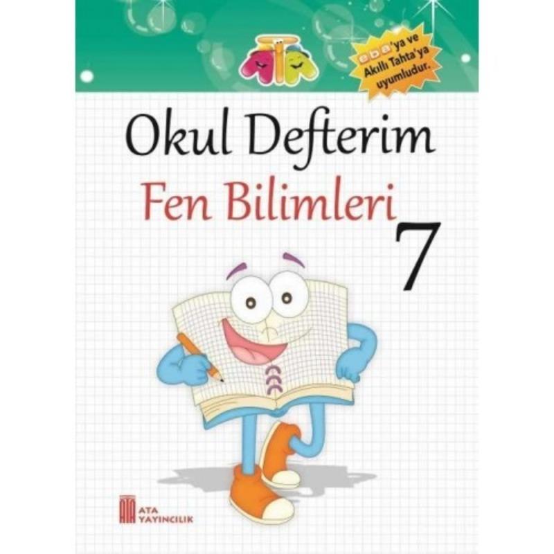 7.Sınıf Okul Defterim Fen Bilimleri Ata Yayınları