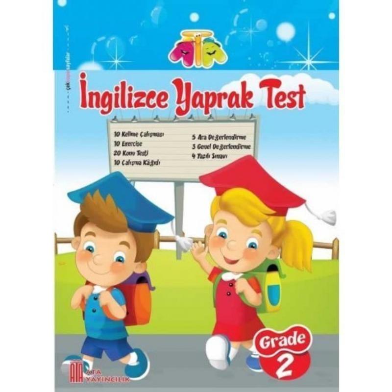 2.Sınıf İngilizce Yaprak Test Ata Yayınları