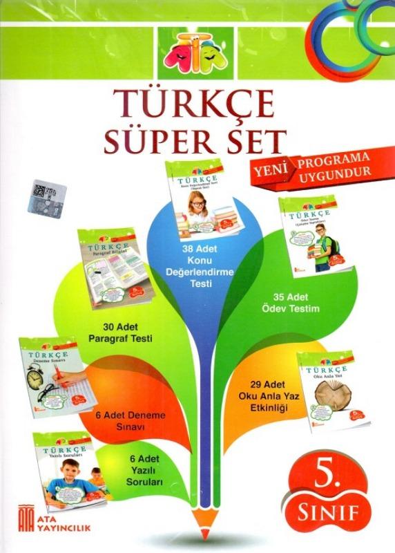 5.Sınıf Türkçe Süper Set Ata Yayınlar