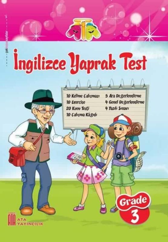 3.Sınıf İngilizce Yaprak Test Ata Yayınları