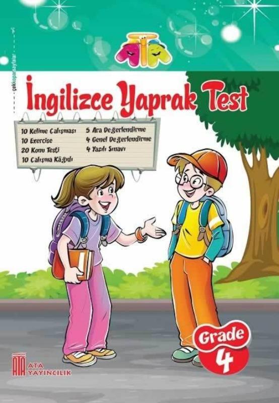 4.Sınıf İngilizce Yaprak Test Ata Yayınları