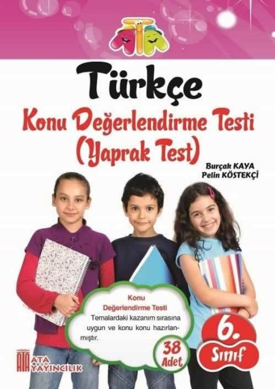 6.Sınıf Türkçe Yaprak Test Ata Yayınları