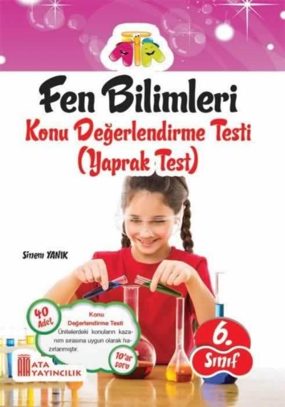 6.Sınıf Fen Bilimleri Yaprak Test Ata Yayınları